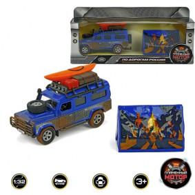 Մեքենա 1:34 870102 Land Rover ուղևորություն вокруг