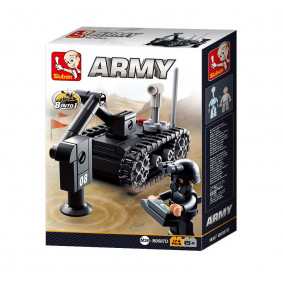 Կոնստրուկտոր M38-B0587D Բանակ տուփի մեջ