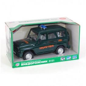 Մեքենա 1:16 9122-D լույսով և ձայնով, իներցիոն, տու