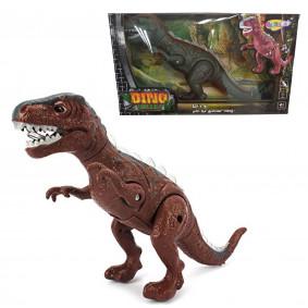 Դինոզավր NY007-A քայլող, լույս+ձայն, գույն , 38*10