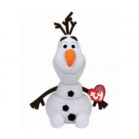 Disney Beanie Babies. Ձնեմարդ Olaf 25 սմ, ձայնային