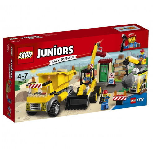 Կոնստուկտոր 10734 Juniors Շինհրապարակ LEGO