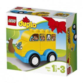 Կոնստրուկտոր 10851 DUPLO Իմ առաջին ավտոբուս LEGO
