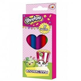 Մարկեր 31803 6 գույնանի Shopkins