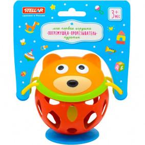 Չխկչխկան 01910 Ատամնահան խաղալիք Կլորիկ STELLAR