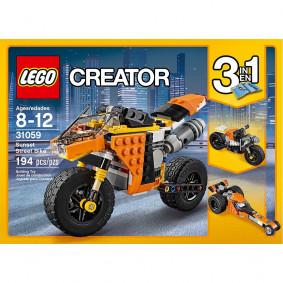 Կոնստրուկտոր 31059 Նարնջագույն մոտոցիկլետ LEGO