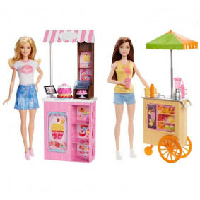 Barbie Doll Bakery Owner Playset - DNC70
