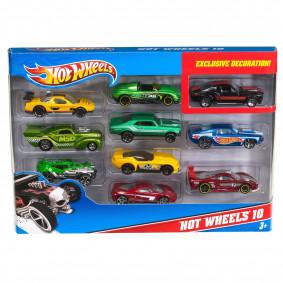 Набор металлических машинок Hot Wheels, 10 шт 54886