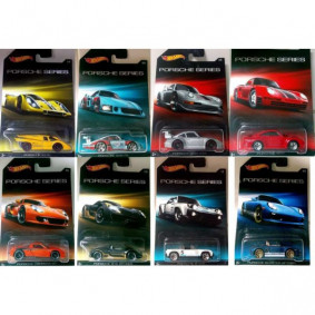 Hot Wheels Porsche Series 2015 Case CGB63