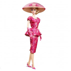 Fashionably Floral Barbie Doll CGK91