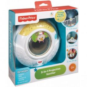 Музыкальный проектор - ночник 3 в 1 Fisher-Price BFL51