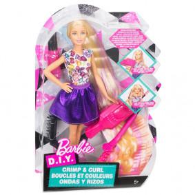 Barbie D.I.Y. Crimps & Curls Doll | DWK49