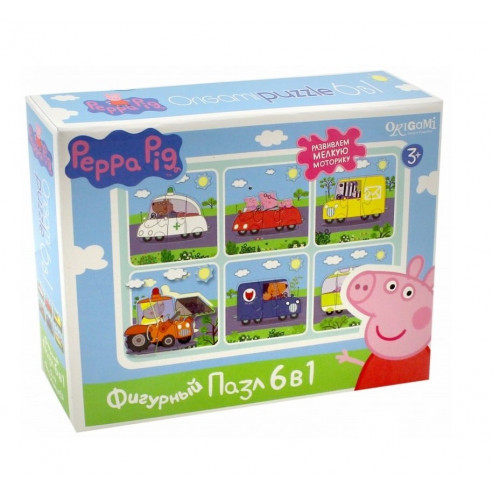 Փազլ 01565 Peppa Pig
