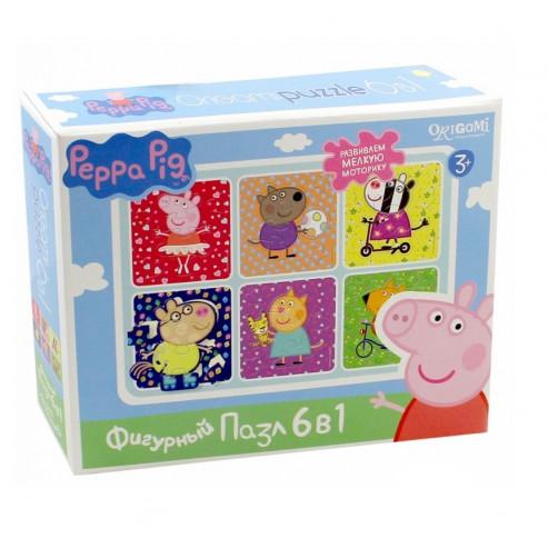 Փազլ 01566 Peppa Pig. 6ը 1ում ORIGAMI
