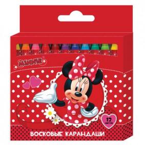 Մեղրամոմից մատիտներ 12 հատ Disney Միննի 28886