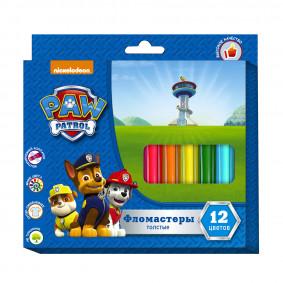 Մարկեր 12 գույն Paw Patrol 31851