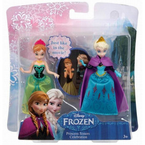Տիկնիկներ Դիսնեյի Աննա և Էլզա Disney Princess.