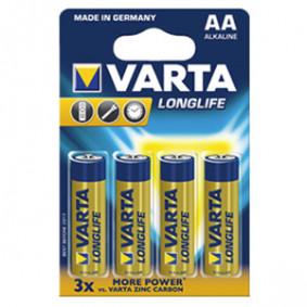 Էլեմենտ Varta Long Life Mignon 4106LR6 4шт 1,5V