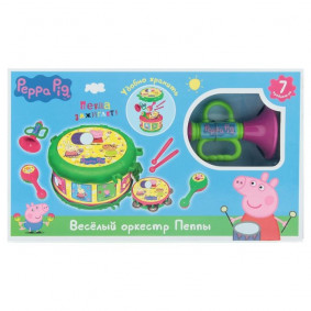 Երաժշտական գործիքների հավաքածու ТМ Peppa Pig, 3142