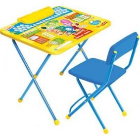 Կոմպլեկտ Ф1А/Ф1З Ֆիքսի Ազբուկա/Զ (սեղան + աթոռ)