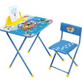 Կոմպլեկտ Щ1 Շնիկների պահակախումբ (սեղան+աթոռ)
