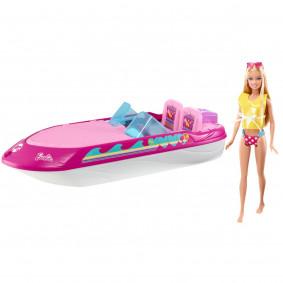 """Barbie BCG79 Игровой набор """"Кукла с катером"""""""