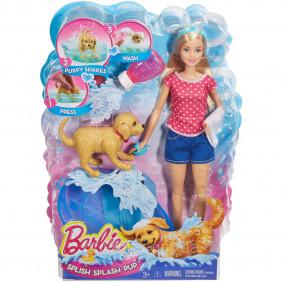Barbie Splish Splash Pup Playset DGY83