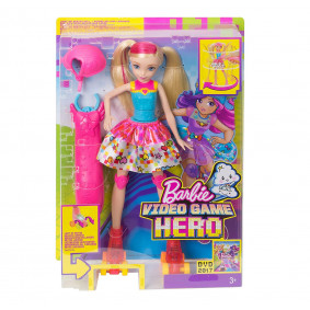 Barbie DTW17 Video Game Hero