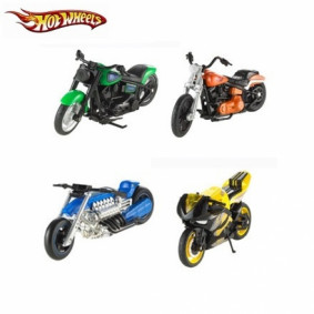 Hot Wheels X4221 Мотоцикл модели 1:18