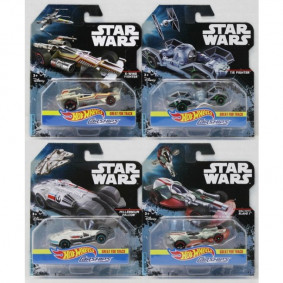 Hot Wheels Star Wars Nave Personajes