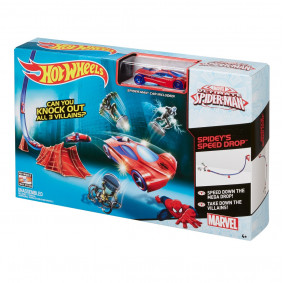 Hot Wheels spider man BGN92