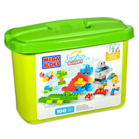Mega Bloks Junior Builders Build-a-Story 100 Piece