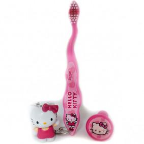 Ատամի խոզանակ Hello Kitty 3 D ճանապարհհորդական կախ