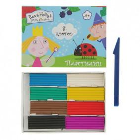 Պլաստիլին 8 գույնանի BEN & HOLLY 31683