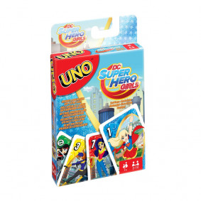 UNO Карти за игра DC SUPER HERO GIRLS FDJ16